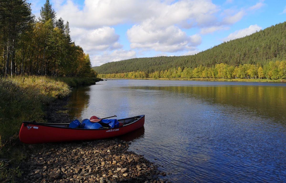 Naturperlen-Kanutour Ivalojoki