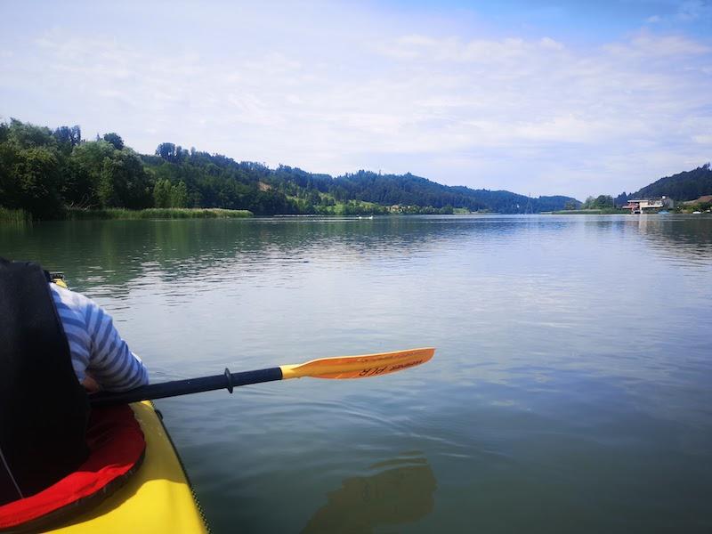 Natur Coaching auf dem Wasser