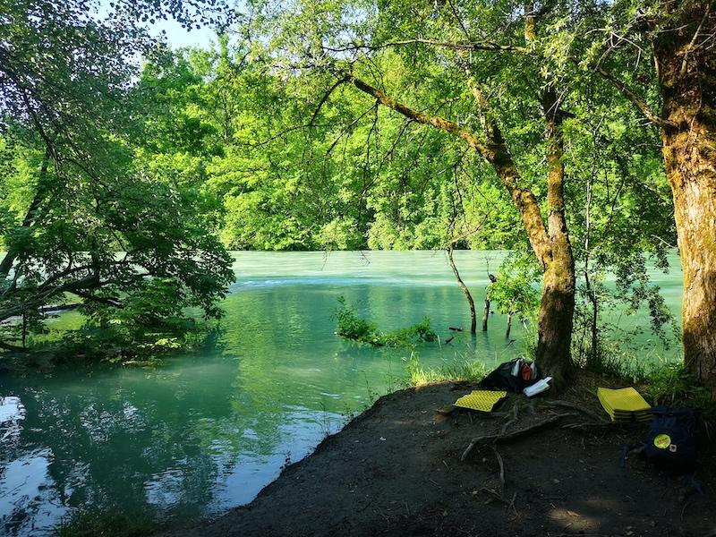 Natur Coaching an der Aare